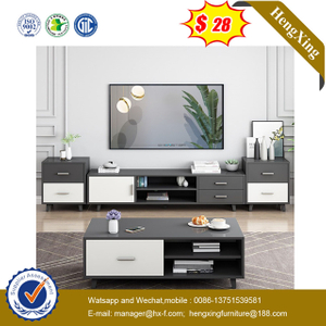 Simple Design 1.2 M Customerized Size Wooden Cheap TV Stand coffee table living room Furnitures