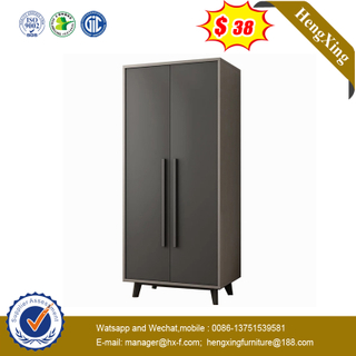 Modern Two-door Bedroom Furniture Clothes Cabinet Overall Wardrobe