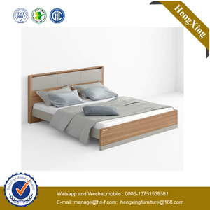 Wholesale Manufacture Modern Wooden Home Bedroom Furniture Set Hotel Beds Mattress Sofa Double King Bed