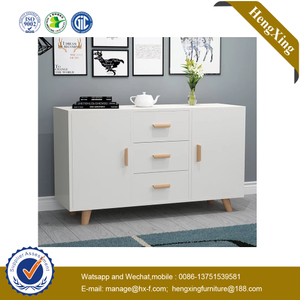 High Quality Modern Home Living Room Furniture Wooden Melamine Storage Cabinets