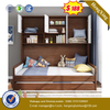 New Product Bedroom Child Safety MDF Wooden Designs Kid Sleeping Bed Furniture