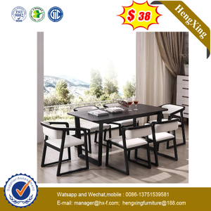 Commercial Modern Wooden Furniture Wood Office Restaurant Bar Restaurant Dining Table