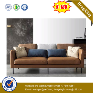 Modern Home Luxurious Leather Living Room Furniture Sofa