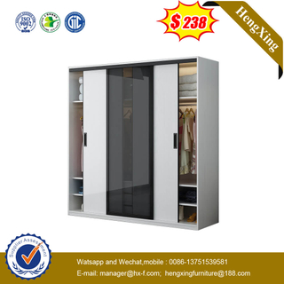 Nordic Sliding Door Modern Simple Bedroom Storage Cabinet Closet Economical Assembly Home Living Set Wardrobe