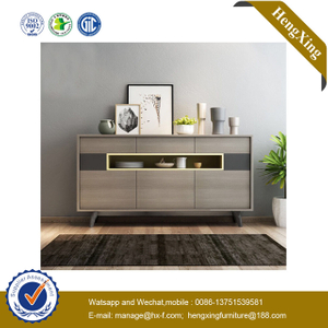 Foshan Manufacture Hotel Furniture Wooden Storage Side Cabinet Kitchen Cabinets