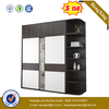 Space Saving Bedroom Furniture Wooden Panel Melamine Drawer Wardrobe with Top Storage Cabinet
