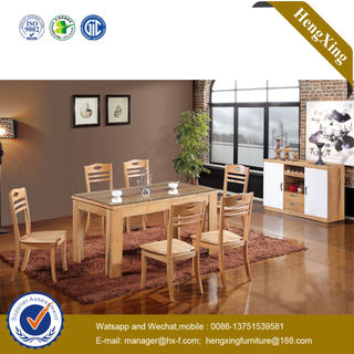 Modern Cheap White Wooden MDF Dining Table for Dining Room Furniture