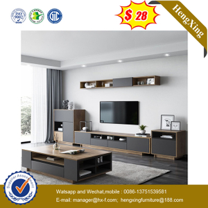Wholesale Home Furniture Living Room Center Wall TV Cabinet Wood Coffee Table