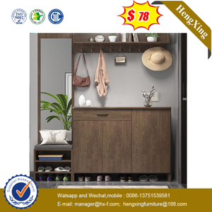 Simple Modern Wooden Home Living Room Furniture Shoes Rack Cupboard Filing Storage Cabinet