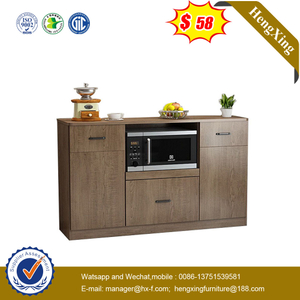 Chinese Wooden Melamine Laminated Wine Storage Cabinet Sideboard Home Living Room Kitchen Dining Furniture