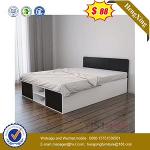 Modern Children Wooden Sets Hotel Bedroom Home Furniture Single Kids Size Bed