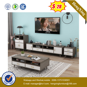 Modern Living Room Furniture Bedroom Set Wooden TV Stand side cabinets Coffee Table