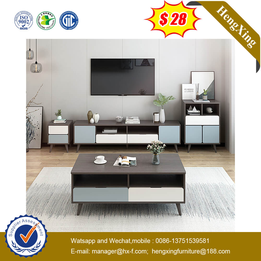 New Model Modern Design Black Walnut TV Stand Furniture Living Room
