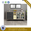 Kitchen Products Simple Modern Living Room Furniture glass mirror Dining Cabinet Sideboard