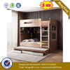Chinese Wooden Home Children Bedroom dormitory Furniture Drawer Cabinet Wall Bunk Single Kids Bed
