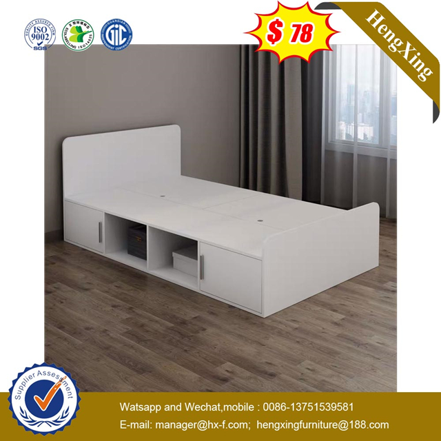 New Design Wooden home Bedroom Furniture Cute Small Kid child single double Bed for Children