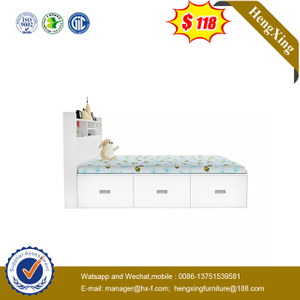 High Quality Kids Bookcase Children Bunk Bed Bedroom Furniture Set