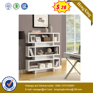 Living Room Series Unique Design Wood Display Shelf Cabinet Bookcase