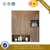 Wooden Home Hotel Living Room Furniture Set Clothes Rack Bedroom Wardrobe